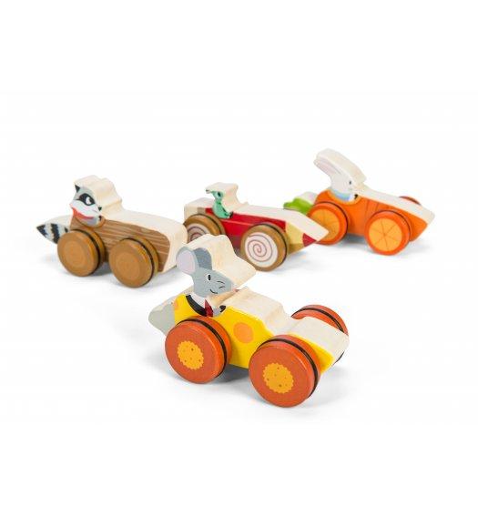 Le Toy Van Petilou Woodland Race Car - PL037