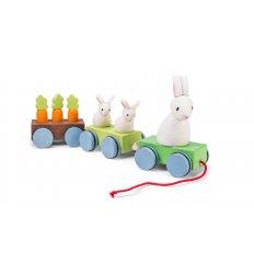 Le Toy Van Petilou Bunny Train - PL026