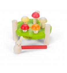 Le Toy Van Petilou 'Mr Mushrooms' Hammer Game - PL092
