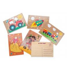 Le Toy Van Postables - Wooden Postcard -