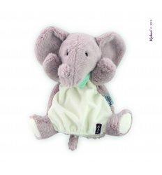 Kaloo Les Amis - Peanut Elephant Hand Puppet -