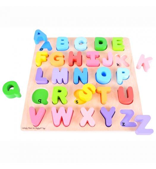 Bigjigs Chunky Alphabet Puzzle (Upper case) - BJ055