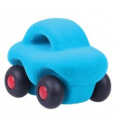 Rubbabu The Micro Wholed Out Car (Turquoise) -