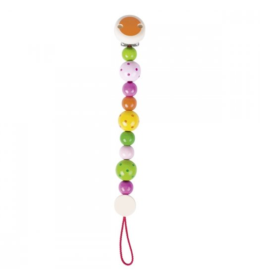 Heimess Soother/Dummy Chain Spotted Beads - 732230