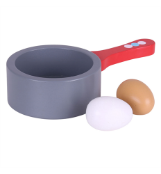 Bigjigs Saucepan with Eggs - BJ625