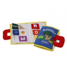 Oskar&Ellen ABC Animal Book - Alphabet Zoo -