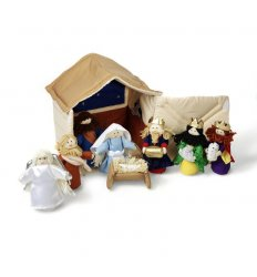 Oskar&Ellen Fabric Nativity Set -