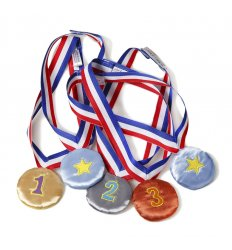 Oskar&Ellen Fabric Medal Set -