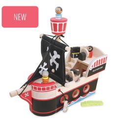 Indigo Jamm NEW Jolly Jack's Pirate Ship -