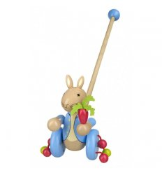 Orange Tree Toys Wooden Push Along - Peter Rabbit - OTT02455