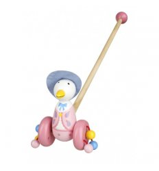 Orange Tree Toys Wooden Push Along - Jemima Puddle-Duck - OTT02462