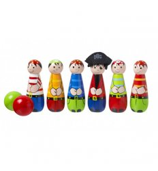 Orange Tree Toys Wooden Pirate Skittles -
