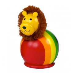 Orange Tree Toys Wooden Money Box - Lion -