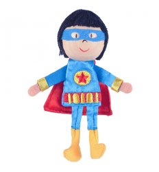 Fiesta Crafts Finger Puppet Boy Hero - G-1053