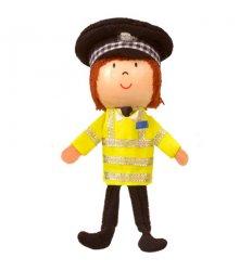 Fiesta Crafts Finger Puppet - Policeman  -