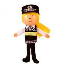 Fiesta Crafts Finger Puppet - Policewoman -