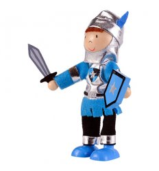 Fiesta Crafts Blue Knight Play Figure -
