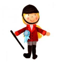Fiesta Crafts Finger Puppet - Horse Rider -