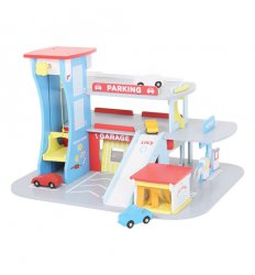 Bigjigs City Auto (Centre) Garage -
