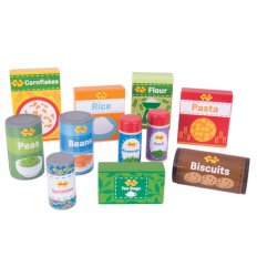 Bigjigs Cupboard Groceries -