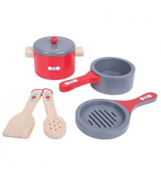 Bigjigs Cooking Pans -