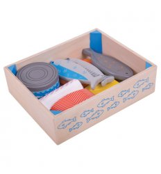 Bigjigs Wooden Seafood Crate -