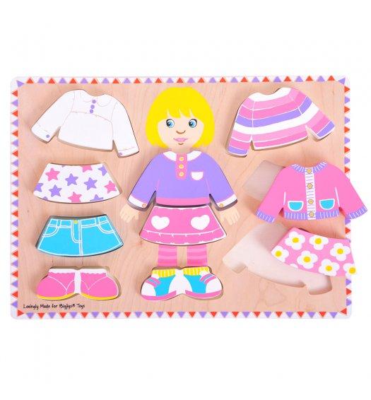 Bigjigs Dressing Girl Puzzle - BJ057