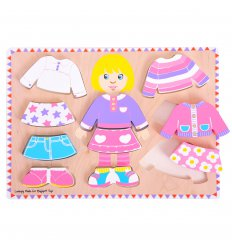 Bigjigs Dressing Girl Puzzle - BJ057
