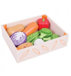 Bigjigs Vegetable Crate -