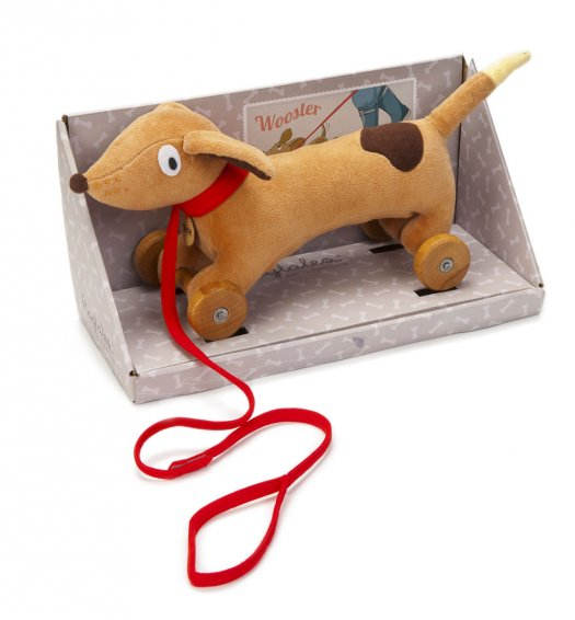 Ragtales Wooster Pull Along Dachsund - 501