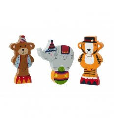 Orange Tree Toys Circus Mini Puzzle Set -