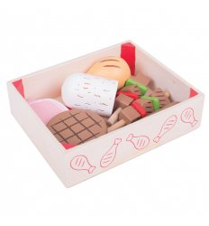 Bigjigs Wooden Butchers Crate -