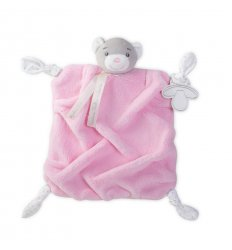 Kaloo Plume - Pink Bear Doudou -