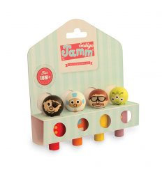 Indigo Jamm Wooden Peg People Assorted - FIJ5031