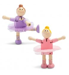 Tobar Wood Flexi Ballerina -