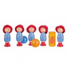 Orange Tree Toys Wooden Paddington Bear Skittles -