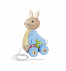 Orange Tree Toys Peter Rabbit pull along -