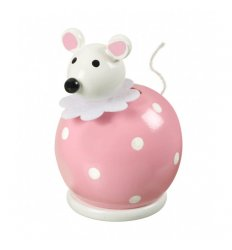 Orange Tree Toys Wooden Money Box - Mouse -