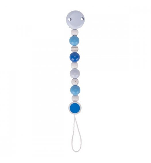 Heimess Soother/Dummy Chain Blue and Grey - 764970