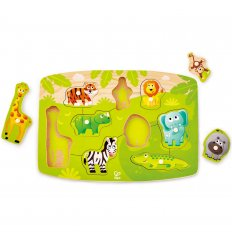 HAPE Jungle Peg Puzzle - E1405