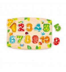 HAPE Numbers Peg Puzzle - E1404
