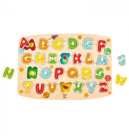 HAPE Alphabet Peg Puzzle - E1505