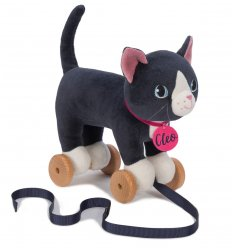 Ragtales Cleo Pull along Cat -
