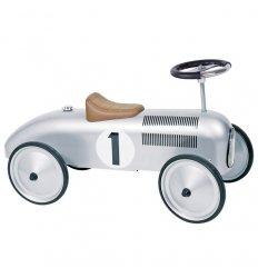 Goki Goki Ride-on Car (Silver) -