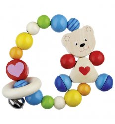 Heimess Touch Ring Elastic Heart Bear -