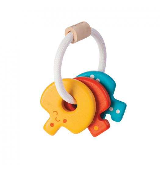 PlanToys PlanToys Baby Key Rattle - 5217