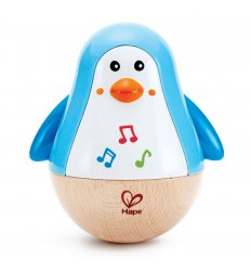 HAPE Penguin Musical Wobbler -