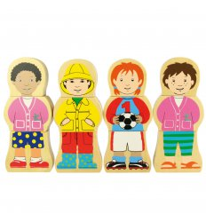 Bigjigs Children at Play Magnetic Puzzle - BJ671