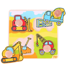 Bigjigs My First Matching Peg Puzzle - Construction -