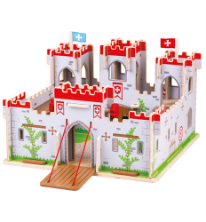 Bigjigs Bigjigs Wooden King George's Castle  - NEW -